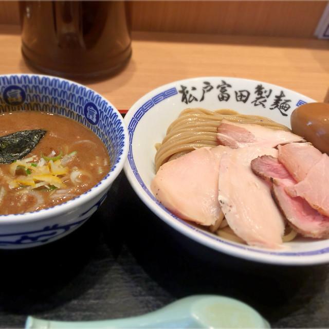 松戸富田製麺 ららぽーとTOKYO-BAY店 - 特製濃厚つけ麺