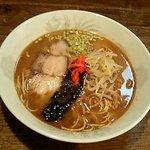 すみよし食堂 - シンプルなラーメン450円(値段もシンプル)