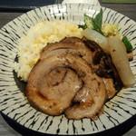 63501190 - ランチセット(チャーシューご飯)