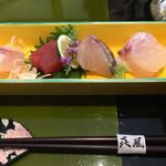 キフウ - 料理写真:新鮮な美味しいお刺身ですd(^_^o)   2017/2/11