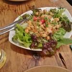 グルガオン - ひよこ豆のサラダ 530円