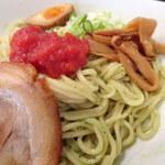拉麺専門店 麺や - 2016年9月 バジルつけ麺