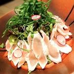 63504663 - 蒸し鶏とゴマと豆腐のヘルシーサラダ   890円