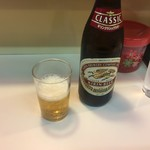 餃子飯店 - 瓶ビール