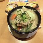 ガスト - 料理写真:野菜山盛り、麺が見えない
