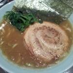 あかばね濱家 - 「醤油ラーメン(700円)」[平成27年11月28日(土)]