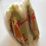 あぷりこっと - アボカド、半熟たまご、トマトベーコンサンド