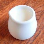 Cafe&Deli COOK - スイーツセット 850円 のミルク
