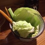 走友 - お通しの生野菜