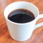 Cafe&Deli COOK - >スイーツセット 850円 のコーヒー