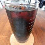 Cafe&Deli COOK - スイーツセット 850円 のアイスコーヒー
