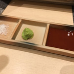 西屋 - 好みで食べましょう〜(^。^)