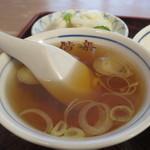 偕楽 - スープアップ