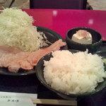 とんかつ甲斐路 - 生姜焼き定食