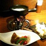 炭の花 - 野菜のチーズフォンデュ