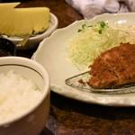 串とも - とんかつ定食(1000円)