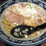 和風楽麺 四代目 ひのでや - 雅楽谷ラーメン730円