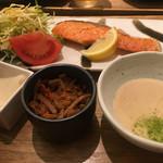 ごはんcafe両子の庄  - お魚サービスランチ/¥1080(税込)  2017/03/05(日)14:24頃訪問