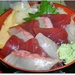 どんぶり亭 松本 - H29年2月 赤白輝き、きれいな色相い
