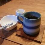 洋食と洋酒 ao-ya - ランチセットのコーヒー