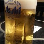 立川 すえひろ - 生ビールはアサヒ500円