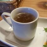 洋食と洋酒 ao-ya - スープはオニオンスープ