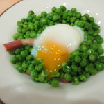 サイゼリヤ - 柔らか青豆の温サラダ