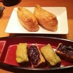 京居酒屋 シェリー - 山菜稲荷、生麩田楽