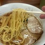 一陽来福 - パツっと歯切れのよい麺