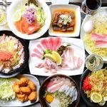 鉄板焼・お好み焼 加屋 - 料理写真: 鉄板焼100分食べ放題スタンダードコース1980円