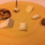 レストラン ラ フィネス - 本日のチーズ