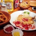 63514155 - 季節のパンケーキセット