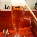 ラパルタメント ディ ナオキ - やはりビールから( ^-^)
