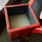 百壱 楠 - 蕎麦湯