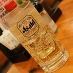 七輪焼肉 安安 - ハイボール(190円+税)2017年2月