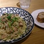フジマル醸造所 京阪くずは店 - パスタランチ800円