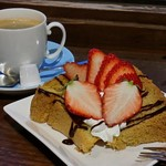 nap cafe - ケーキセット