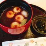 櫻子 - 白玉汁粉 こし餡