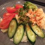 民生 - 野菜サラダ