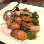 民生 - 牡蠣のオイスター炒め