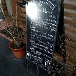 イタリア食堂 ポコポコペペ - お店前のメニュー