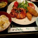 和菜房 the kitchen 晴 - 日替り定食(若鶏の照り焼き)