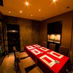 鉄板焼 開化屋 - 個室