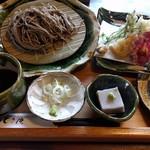 とき庵 - 天盛り蕎麦 1420円