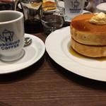 Hoshinokohiten - パンケーキダブル&コーヒー