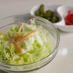 グランドルート66 - サラダ、香の物