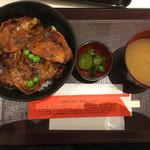 豚丼のぶたはげ - 豚丼4枚(1,020円)