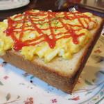 和の香 珈琲 - 1703 和の香 珈琲 エッグトースト@390円