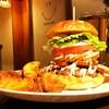 ジャストミート - 料理写真:燻製バーガーDX