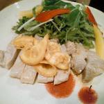 ちぃりんご - 厚切り豚ロースのオレンジ麹焼き
